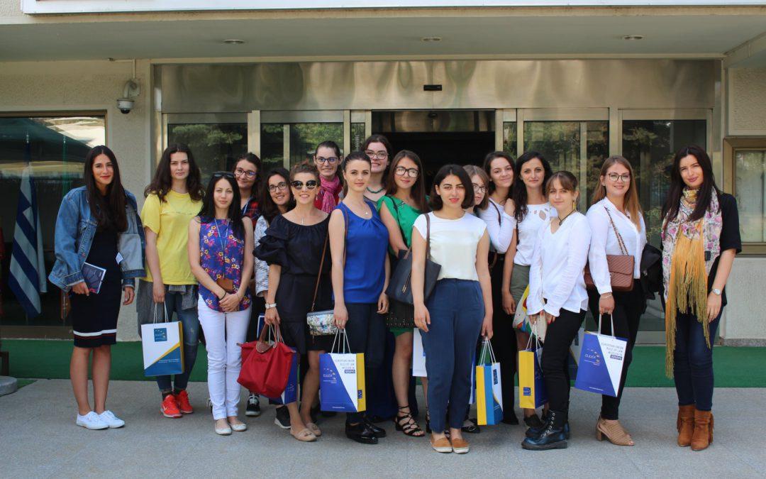 GlobalGirl Media Kosovo meets EULEX