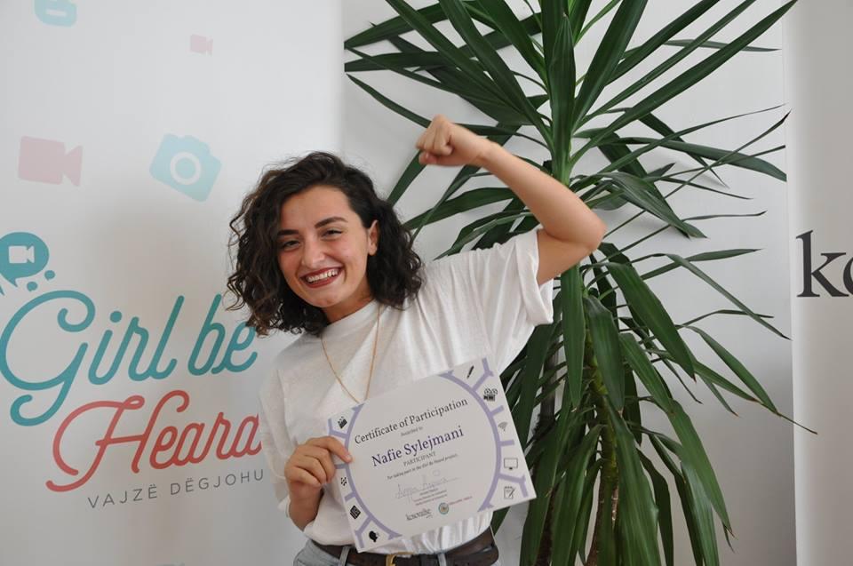 Ceremonia e Çertifikimit të anëtareve të GlobalGirl Media Kosova
