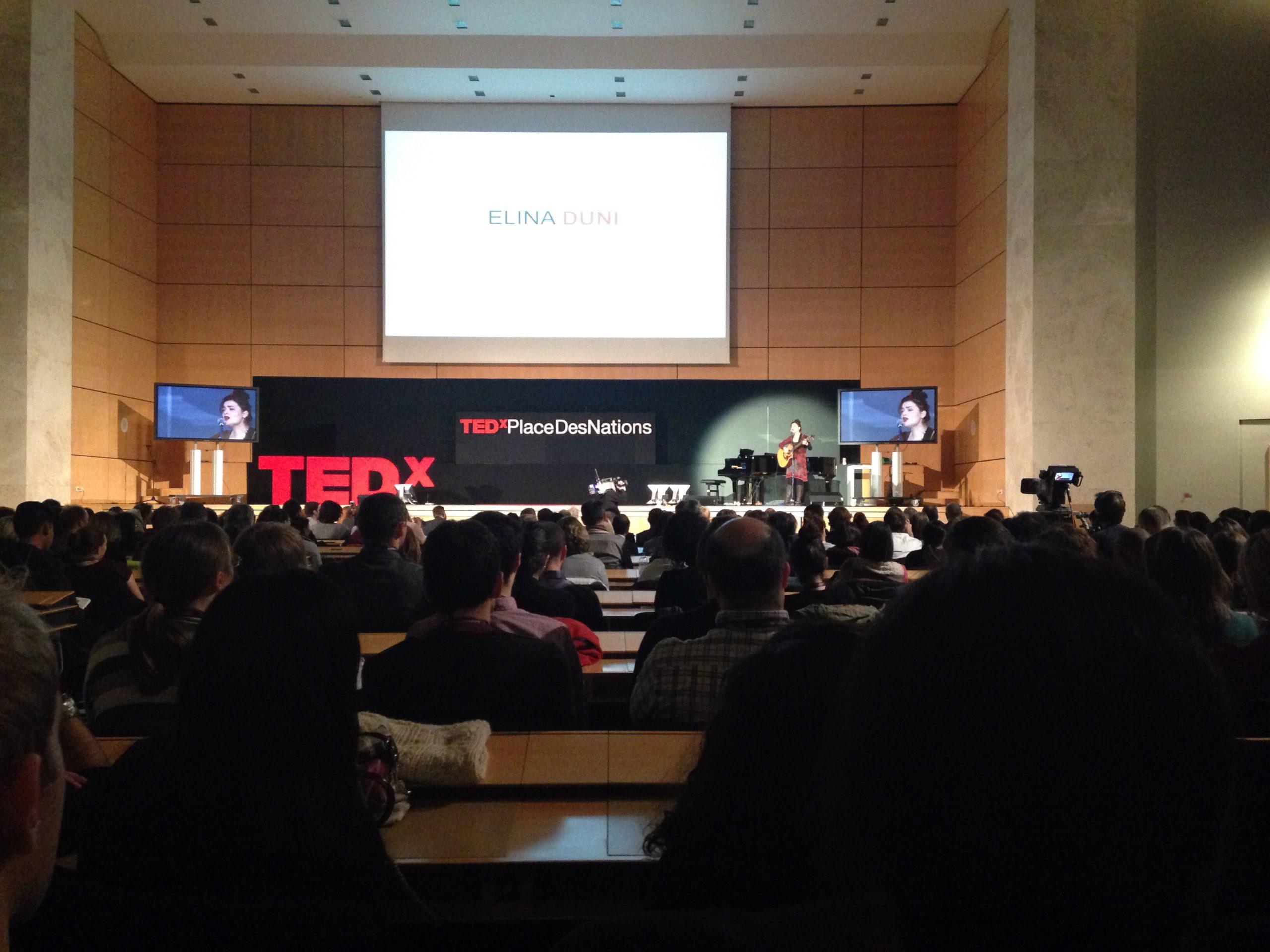 Jehona Shqipëtare edhe në TedxPlaceDesNations