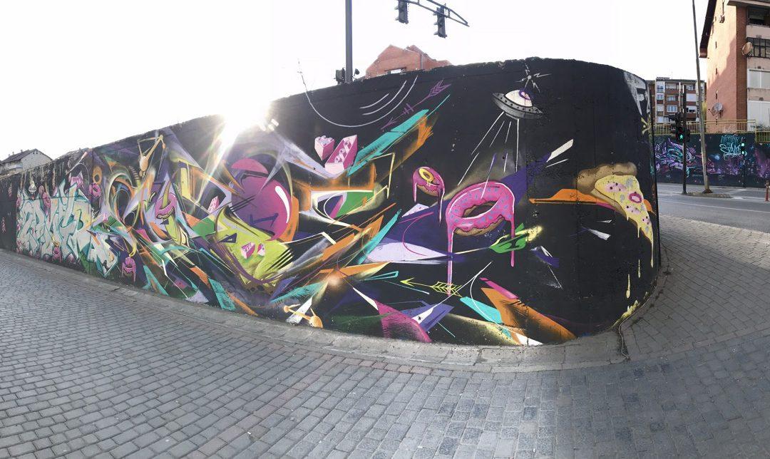 MURALET: Jo vetëm ngjyra në qytet