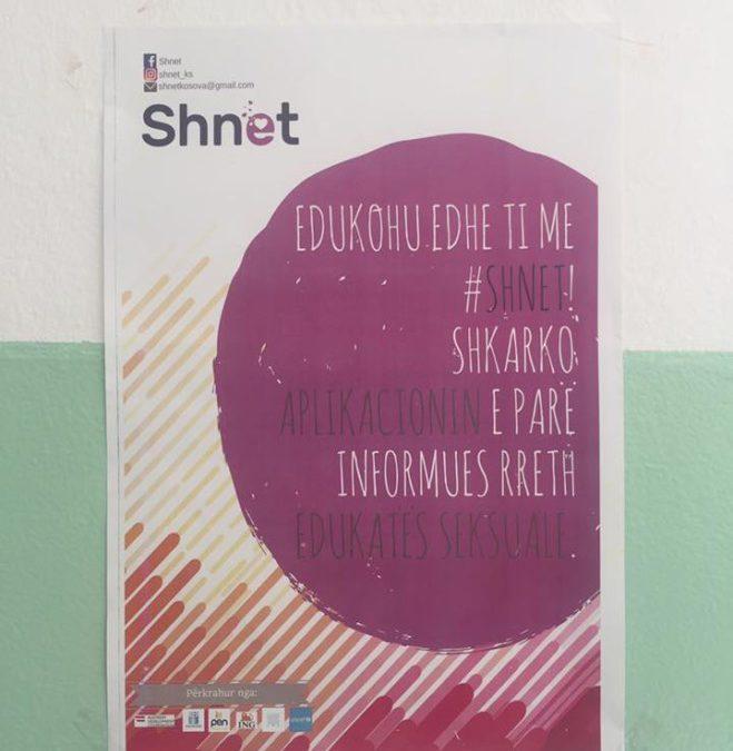 """Me """"Shnet"""" kundër mosinformimit e tabusë së edukatës seksuale"""