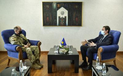Kurti- Henry: Siguria në vend është prioritet i përbashkët i institucioneve të Kosovës dhe KFOR-it