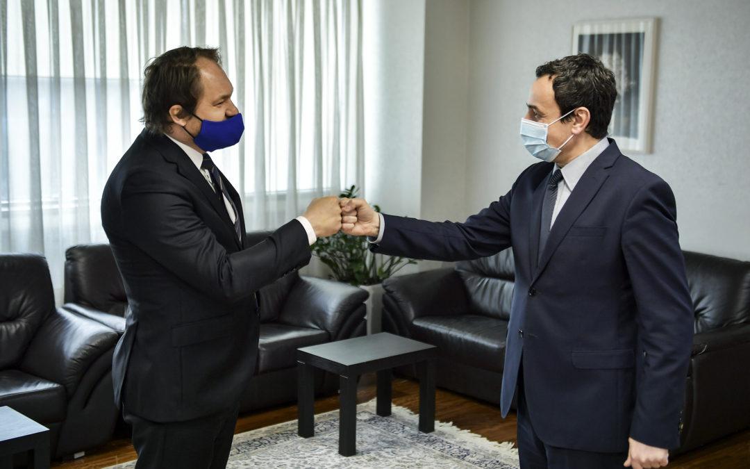 Kurti- Kostilnik: Sllovakia t'i bashkohet grupit të BE-së dhe ta njeh Kosovën