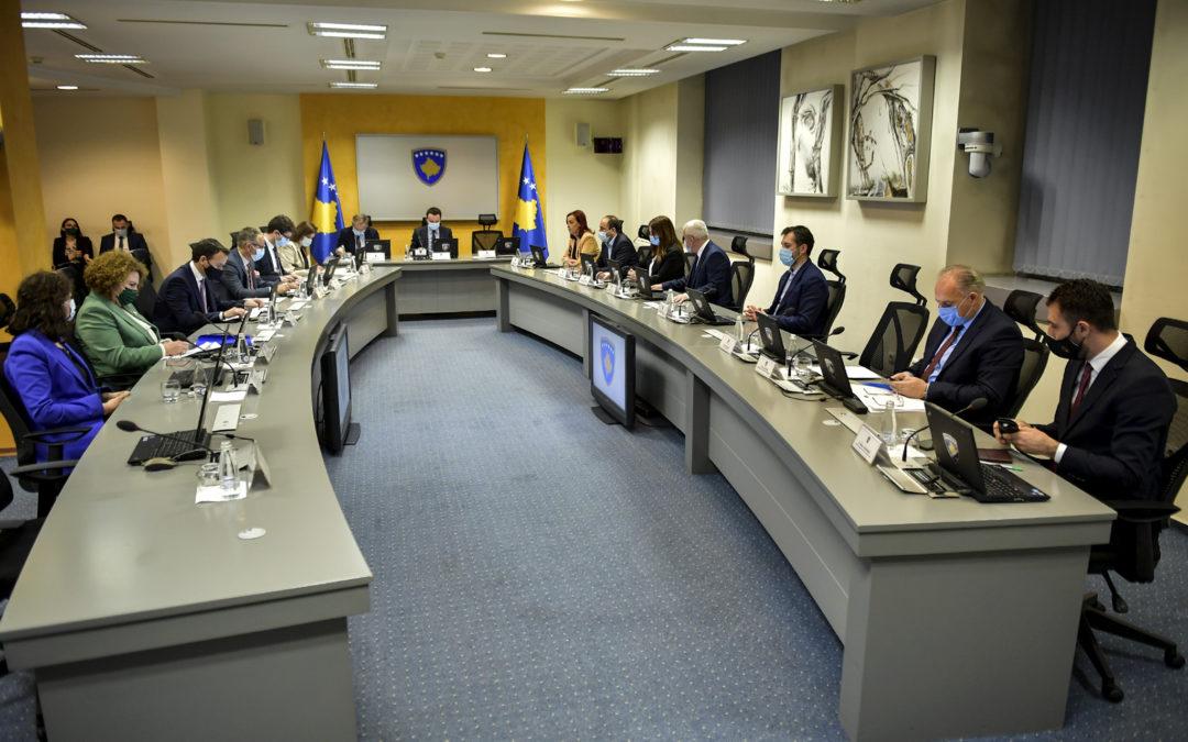 Qeveria miratoi kornizën afatmesme të shpenzimeve për vitet 2022-2024
